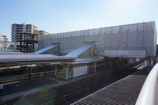 JR茨木駅上から見るDSC0186811月11日
