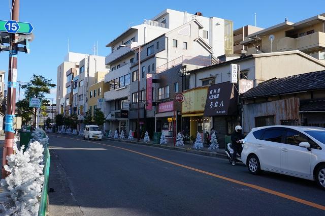 方向阪急別院から阪急茨木市駅DSC02854