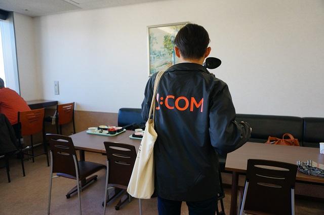 市役所食堂でJコム取材DSC02719