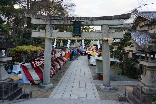 20161230茨木神社の様子DSC02975