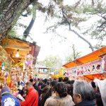 十日戎茨木神社搦手門と合流するところから本殿のほうDSC03143