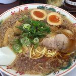 魁力屋醤油味玉ラーメンIMG_5323