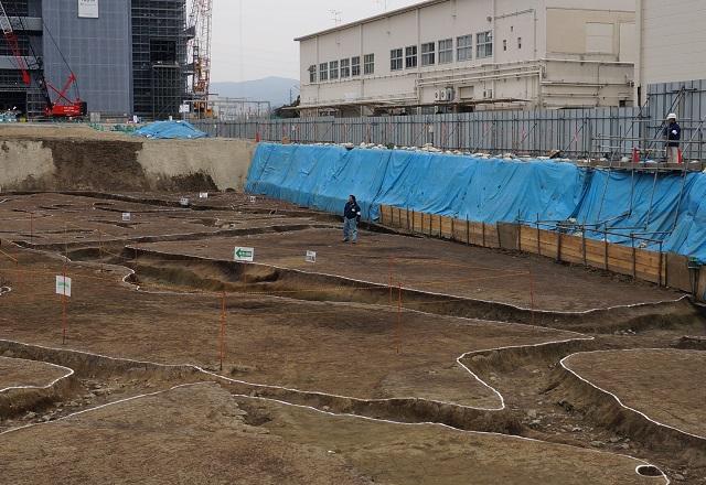 一番大きい方形周溝墓DSC03950