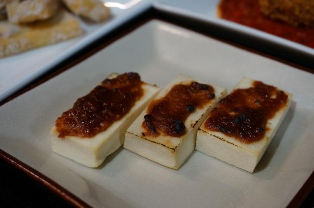 千・伏見屋岩豆腐味噌焼きDSC04667