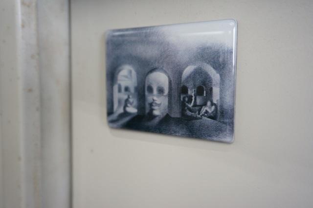 茨木市文化振興課棚のマグネットDSC04491