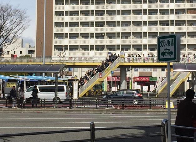 JR茨木からガンバ新スタへのバス