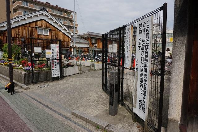 阪急茨木本町通商店街駐輪場DSC05581