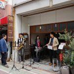 大池コミュニティセンターとツミキ食堂のジャズライブ、楽しいよ!