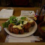 ツミキ食堂でボリューミーランチ!5月から溜まり場もオープン。