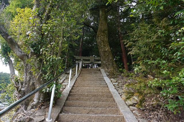 2見山の郷神社階段DSC05166