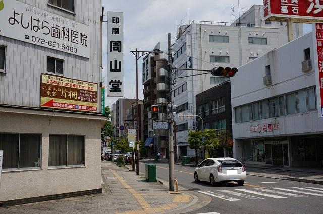 中央通りで次なる茨木フラッグ1DSC05925