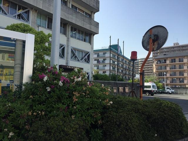 茨木警察前でグーグルカーIMG_6911