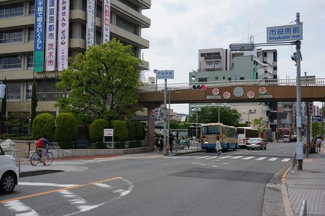 茨木市役所のあたりDSC05950