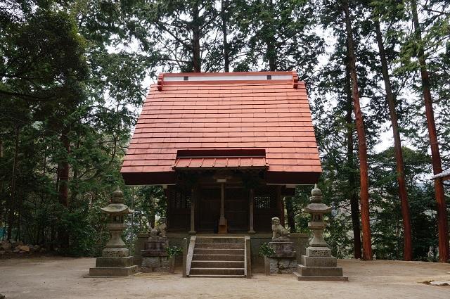 11見山の郷神社参拝殿DSC05184