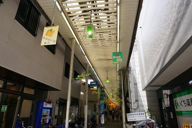 心斉橋商店街の看板DSC05947