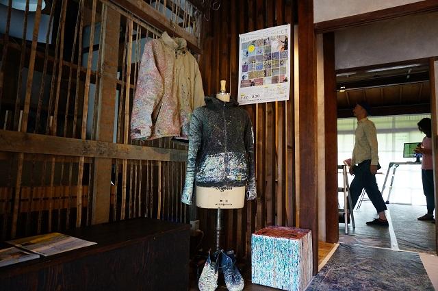 ハブイバラキ報告展に作業で着た服もDSC06542