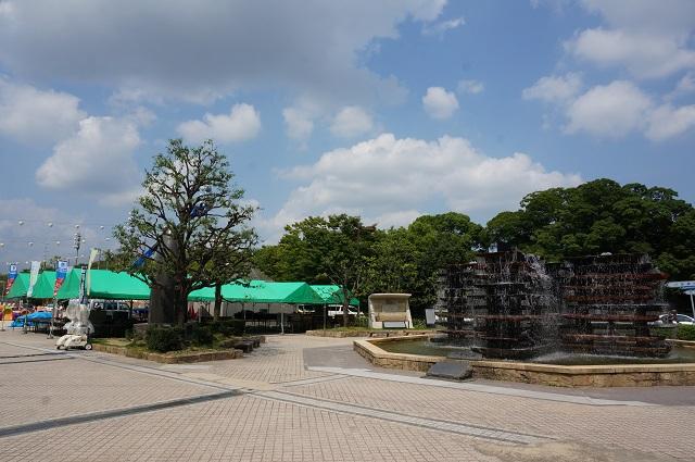 茨木フェスティバル人工台地の協会本部場所DSC08170