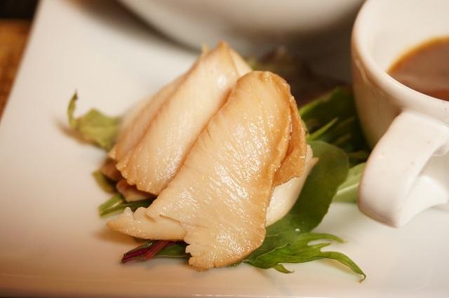 塩凸ランチの鶏肉DSC07532