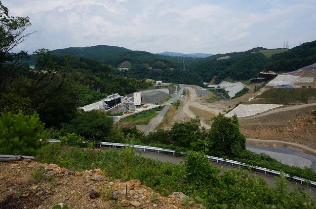 0717安威川ダム風景1DSC07808