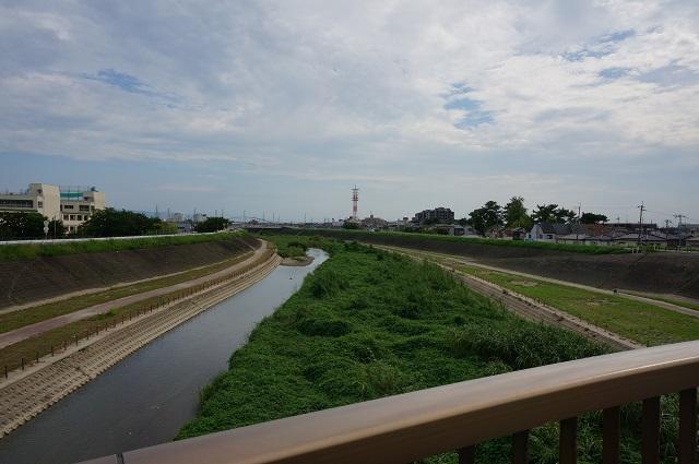 五十鈴橋からの安威川DSC08560