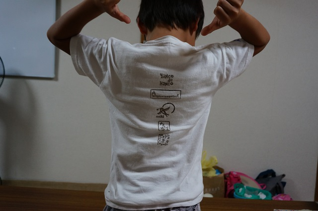 安田佳奈さんはんこティシャツDSC08478