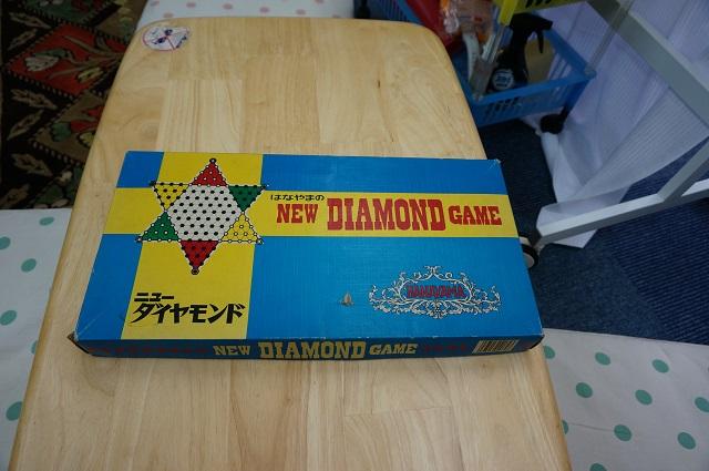 子ども将棋教室にダイヤモンドゲームDSC08315