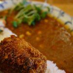 カフェレカの安威川ダムカレー、週に1日水曜だけ食べられます!