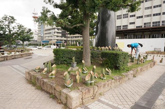 Ibarakiワンダフルタイム灯篭をならべるDSC08875