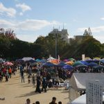 「フリマ、賑わってました」~フリーマーケットFOR平和・福祉フェスティバル