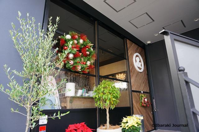 Jun&Pepper'sカフェの入口のところ