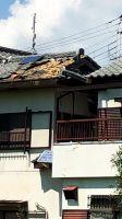 台風21号のあと。9/5の朝、ちょっとうろうろー茨木の風景
