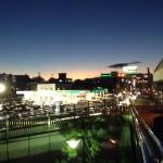 茨木市の宇野辺付近の夕暮れです