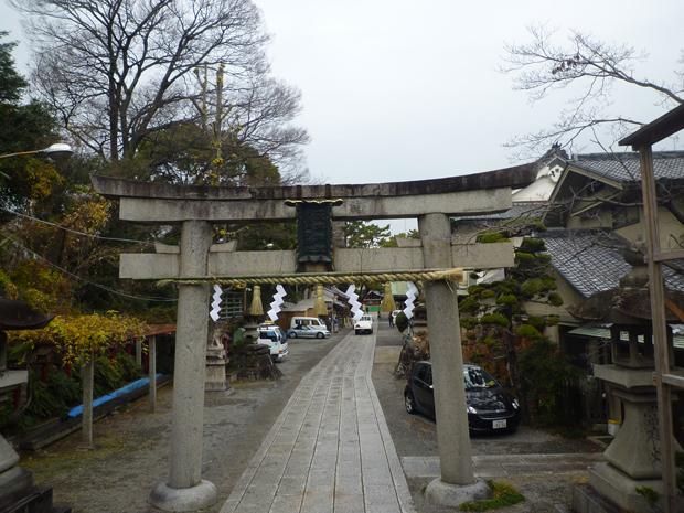 茨木神社正月前