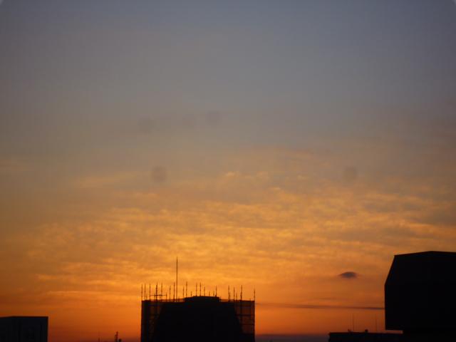 12月30日茨木市の朝