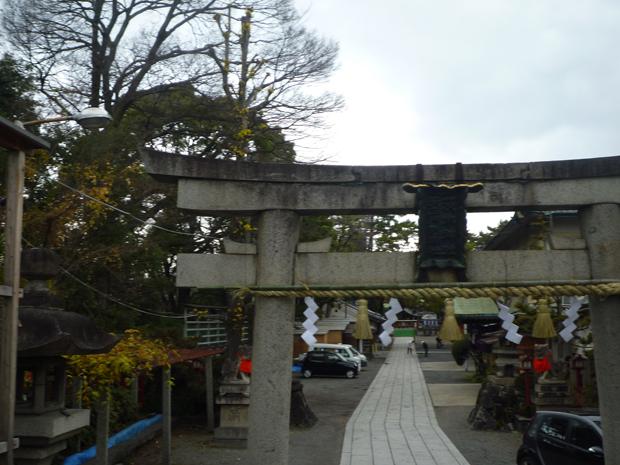 1227茨木神社夕方2