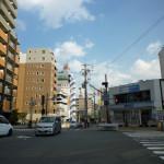 JR茨木ショップタウンの交差点