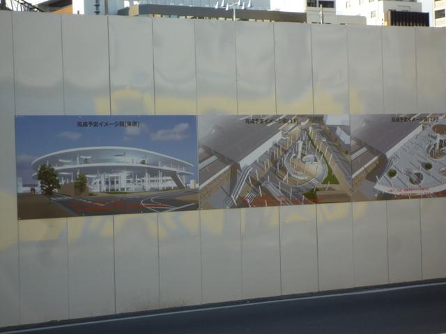 JR茨木駅東口のイメージ図