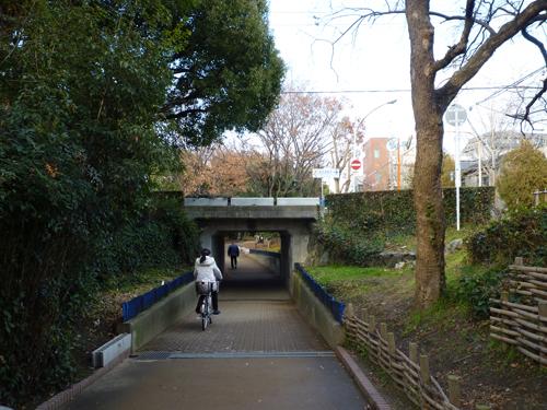 kk丹波橋跡・遊歩道から1