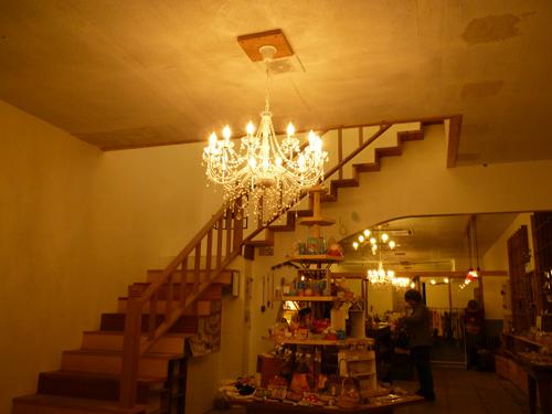 tsumikiカフェの1階雑貨