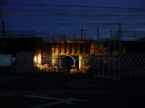 kkJR新駅工事中