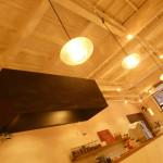 カフェレードルの天井