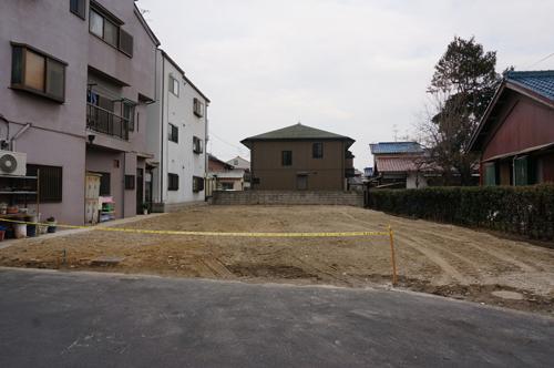 茨木市にしき湯が更地に