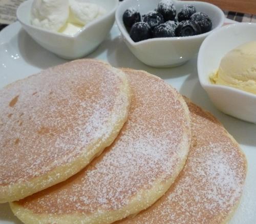 カフェレードルのパンケーキアップ2-2