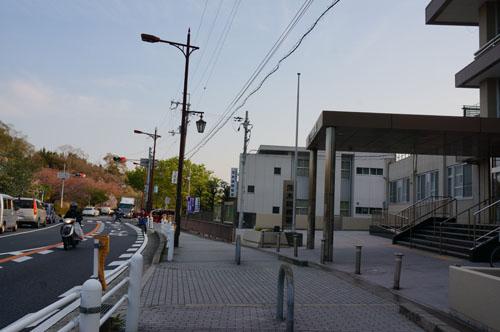 茨木商工会議所から市役所方面