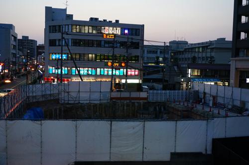 JR茨木駅前ビルの工事1