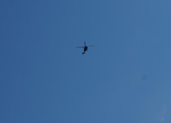 ヘリコプター北へ