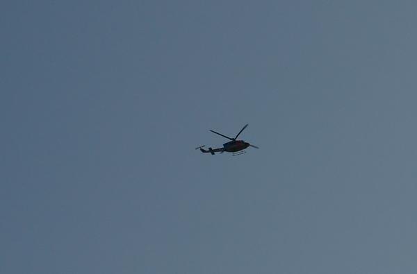 ヘリコプターアップ