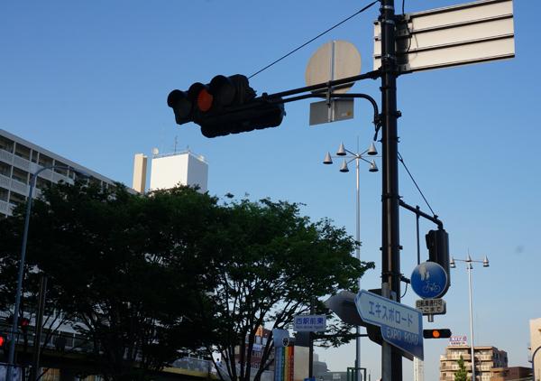 JR駅前の様子