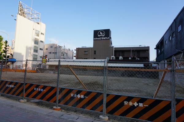 JR茨木西側ビル工事アップ