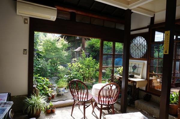 川本本店福嶋屋の庭